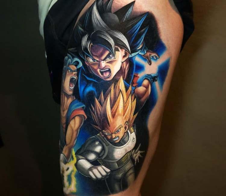Dragon Ball está entre os mais pedidos em estúdios de tatuagem