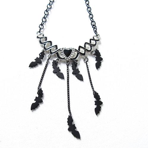 Bat Cascade Necklace