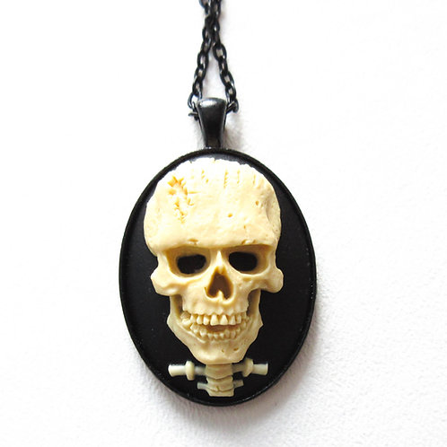 Frankenskull Necklace