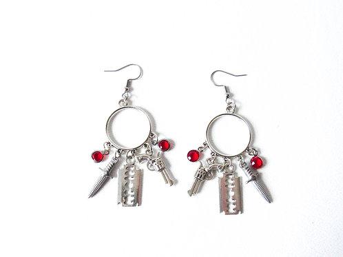 Weapons Array Earrings