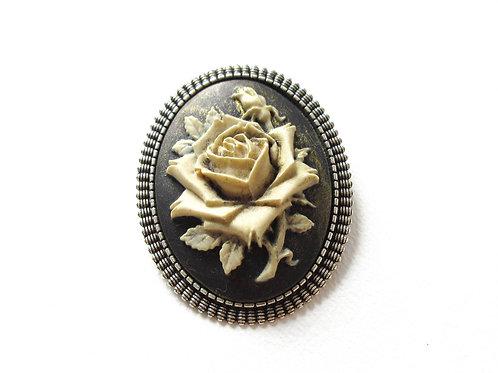 Rose Cameo Pin