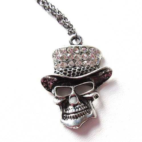 Bling Skull Necklace