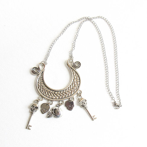 Skull Goddess Necklace