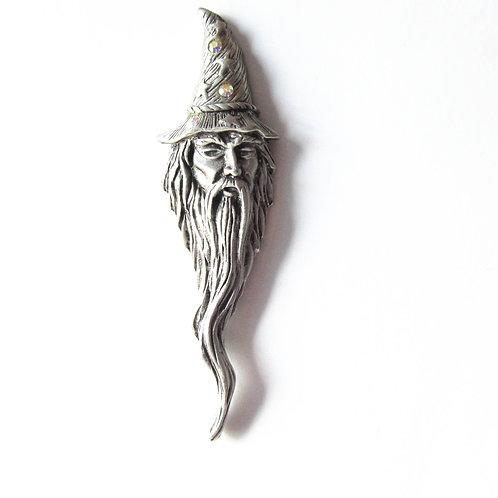Vintage JJ Wizard Pin