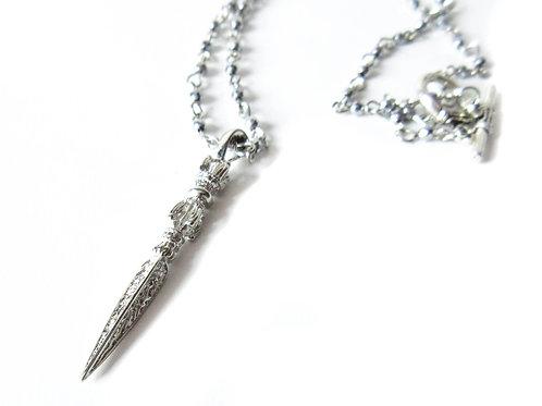 Silver Slayer Necklace