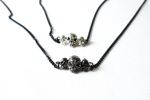 Skull Bar Necklace
