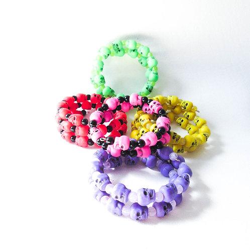 Colorful Skull Bracelet