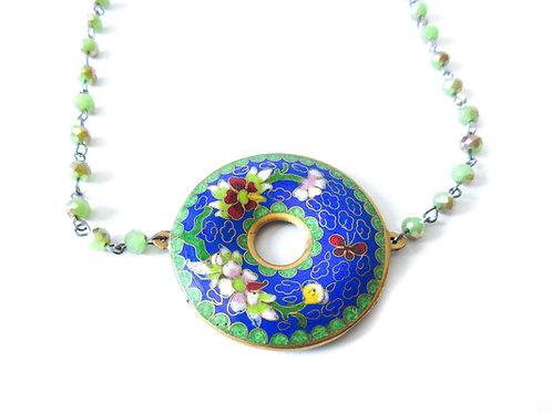 Cloisonne Choker Necklace