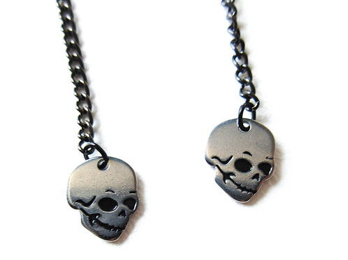 Skull Duster Earrings