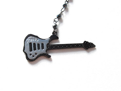 Guitar Rosary Necklace
