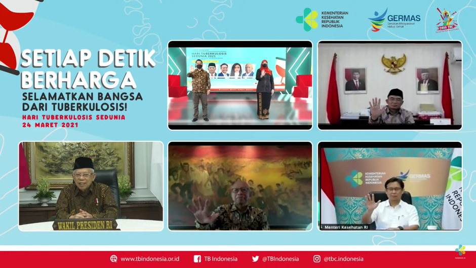 HTBS 2021: STPI, Subdit TB Kemenkes RI Bersama Mitra Selamatkan Bangsa Menuju Indonesia Bebas TBC