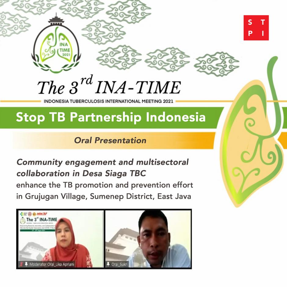 STPI Presentasikan Upaya Pelibatan Komunitas Desa Siaga TBC Grujugan pada Konferensi INA-TIME Ketiga