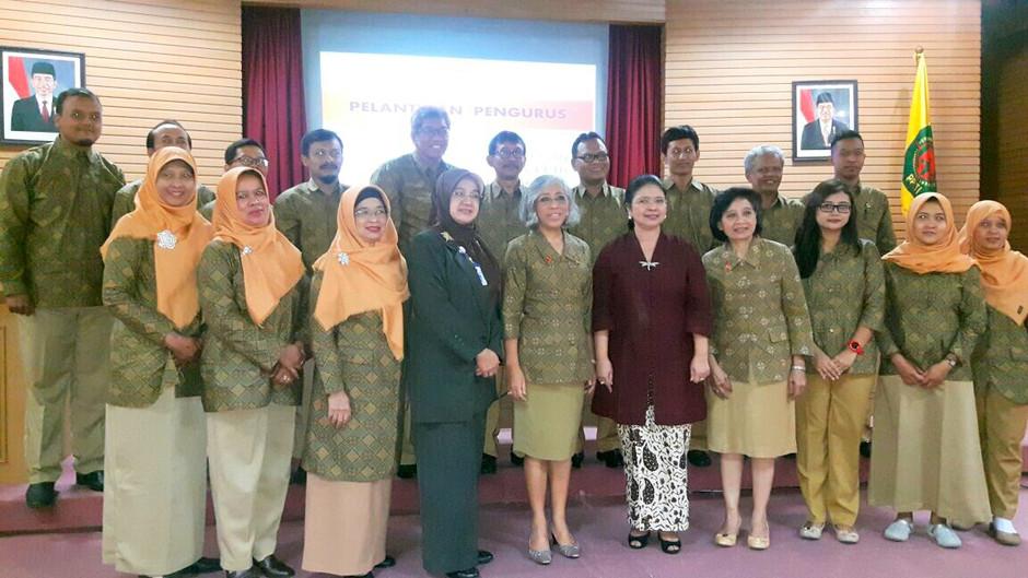 Pengurus PPTI Wilayah Daerah Istimewa Yogyakarta Masa Bakti 2015-2020 Dilantik
