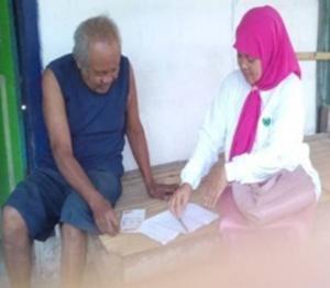 Antisipasi TB, Puluhan Kader LKNU Blitar Blusukan di 6 Kecamatan