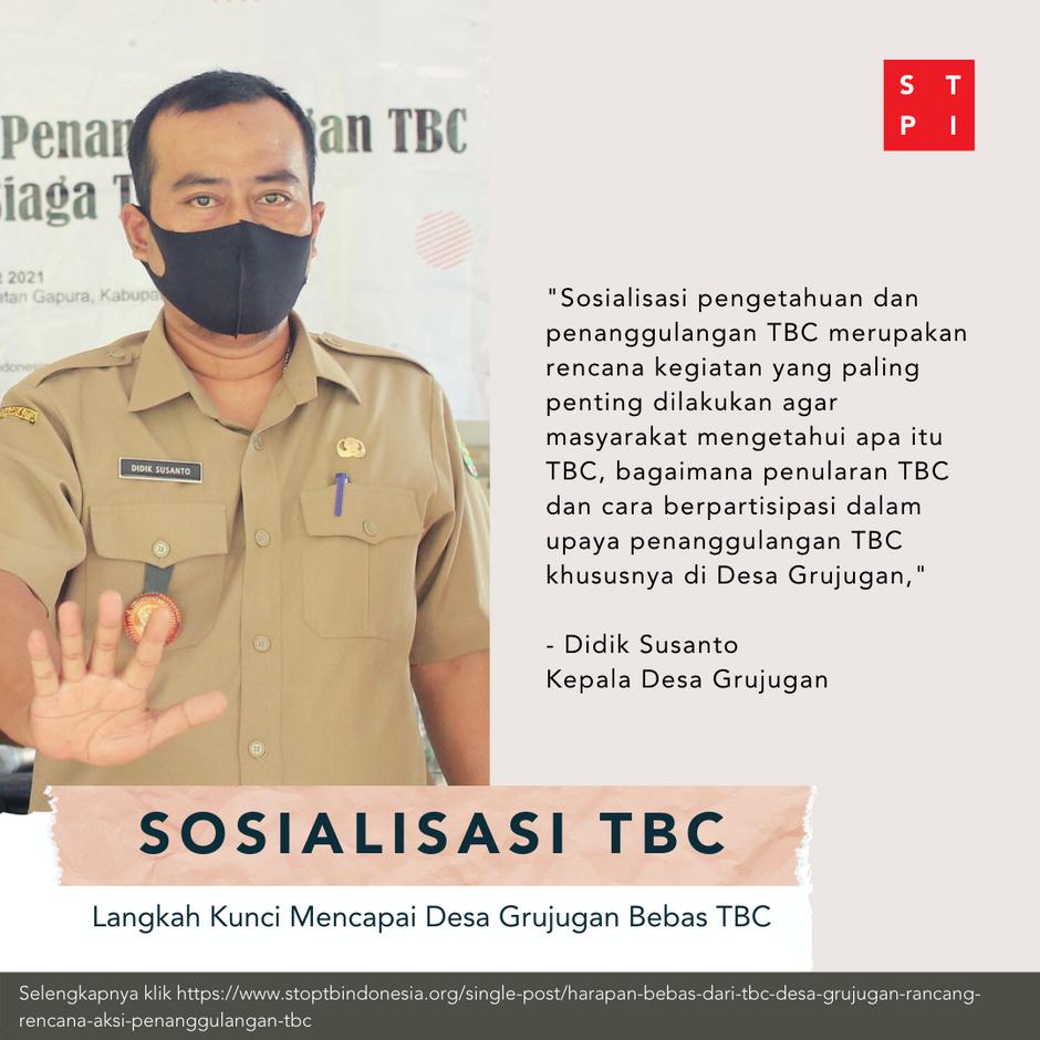Harapan Bebas dari TBC, Desa Grujugan Rancang Rencana Aksi Penanggulangan TBC