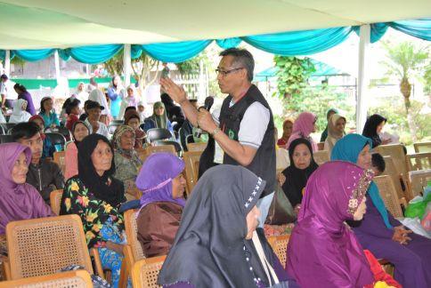 Bakti Sosial PPTI Pusat di Cianjur