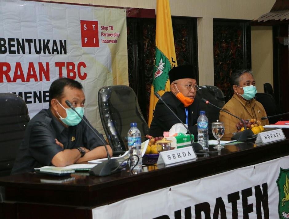 STPI Mendukung Program Pencegahan dan Pengendalian TBC di Kab. Sumenep melalui Pembentukan Forum TBC