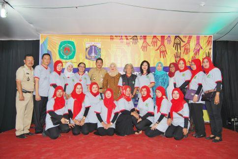 Wakil Walikota Jakarta Barat Hadiri Bakti Sosial PPTI Pusat di Kelurahan Kapuk