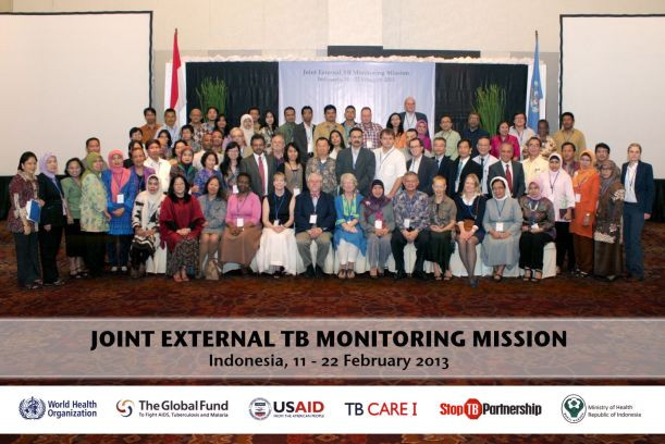 Joint External TB Monitoring Mission 2013