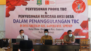Rawan TBC, Desa Grujugan Rancang Aksi Desa Penanggulangan TBC Bersama STPI