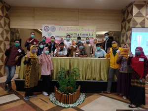 TB Care Aisyiyah Perkuat Pendampingan Pasien TB-RO dengan Pelatihan Pendidik Sebaya Bagi OMP