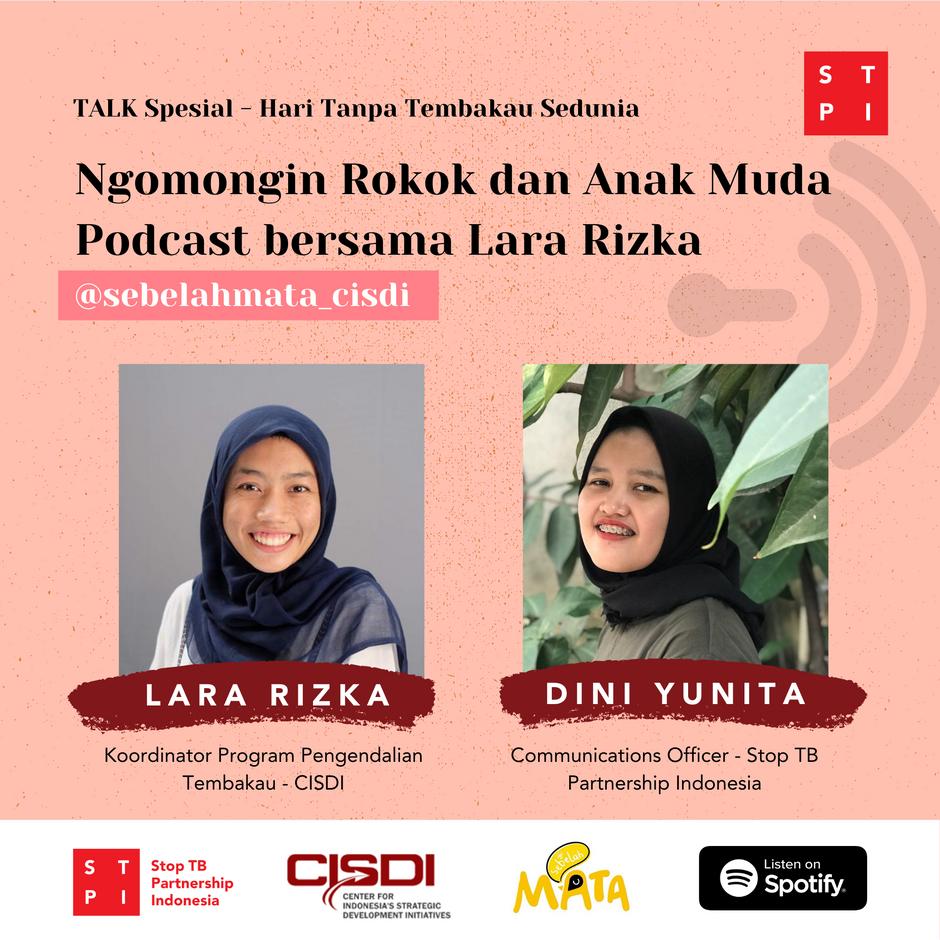 "Hari Tanpa Tembakau Sedunia 2020: ""Cegah Anak dan Remaja Indonesia dari Bujukan Rokok"""