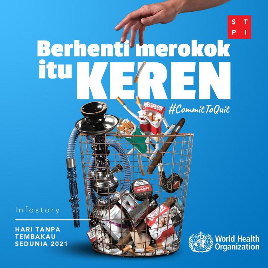 Risiko Tuberkulosis Menurun Akibat Berhenti Merokok – Hari Tanpa Tembakau Sedunia 2021