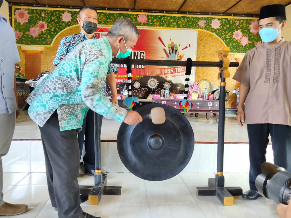 Peluncuran Desa Siaga TBC di Desa Sesela, Upaya Desa Menanggulangi TBC di Lombok Barat