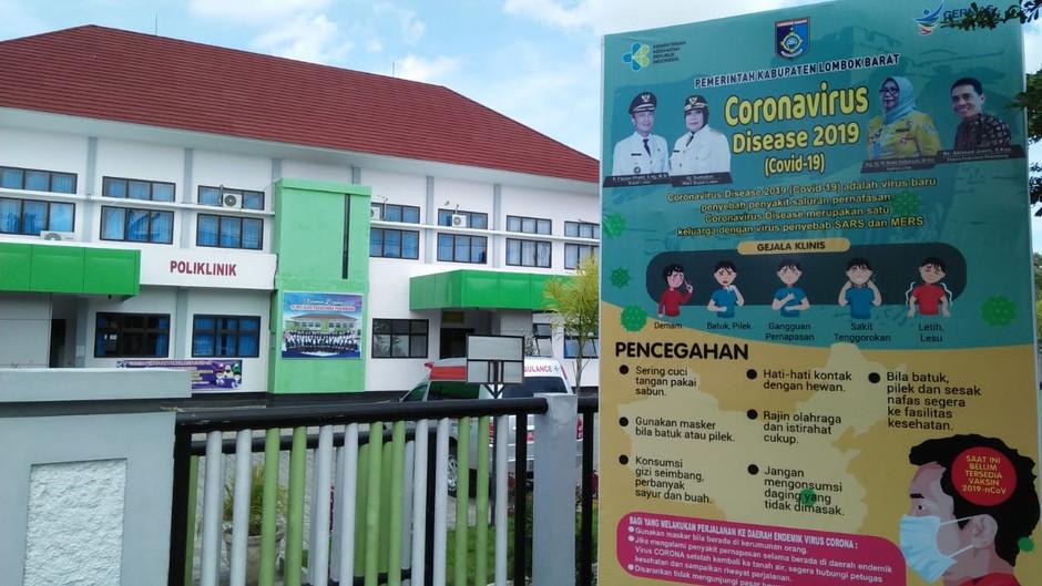 """Pertemuan Virtual """"Pelayanan TBC pada Masa Pandemi COVID-19 di Layanan Kesehatan Kab. Lombok Barat"""""""