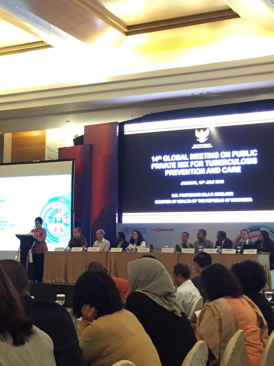 Indonesia dan World Health Organization Mengorganisir Pertemuan Global Public-Private Mix untuk Tube