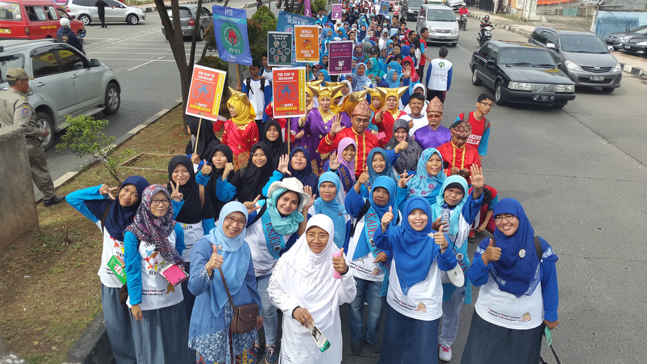 PPTI Cabang Kota Depok Gelar Walk For TB