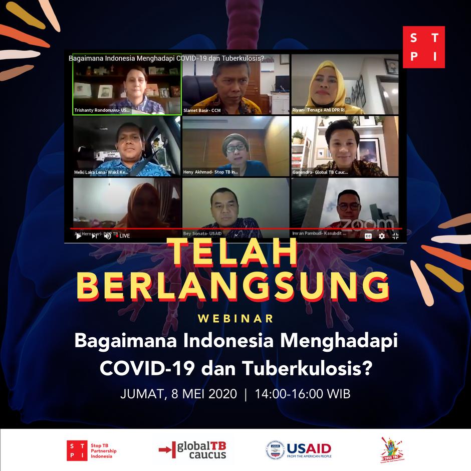 Diskusi Pemerintah, DPR RI, Mitra Pembangunan, dan Komunitas: Bagaimana Indonesia Menghadapi COVID19