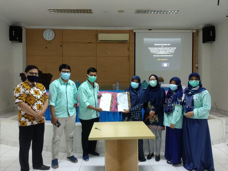 Yamali TB Sulsel Jalin Kerjasama Peduli TBC dengan Prodi HI UIN Alauddin