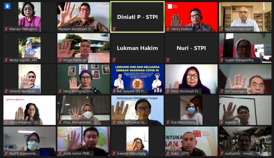 STPI Gelar Pertemuan Forum Kemitraan TBC Nasional Pertama Tahun 2021, Diperlukan Peran Lintas Sektor