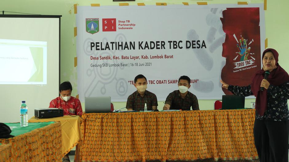 Peran Penting Kader dan Kerjasama Masyarakat Sebagai Tonggak Penemuan Kasus TBC di Lombok Barat