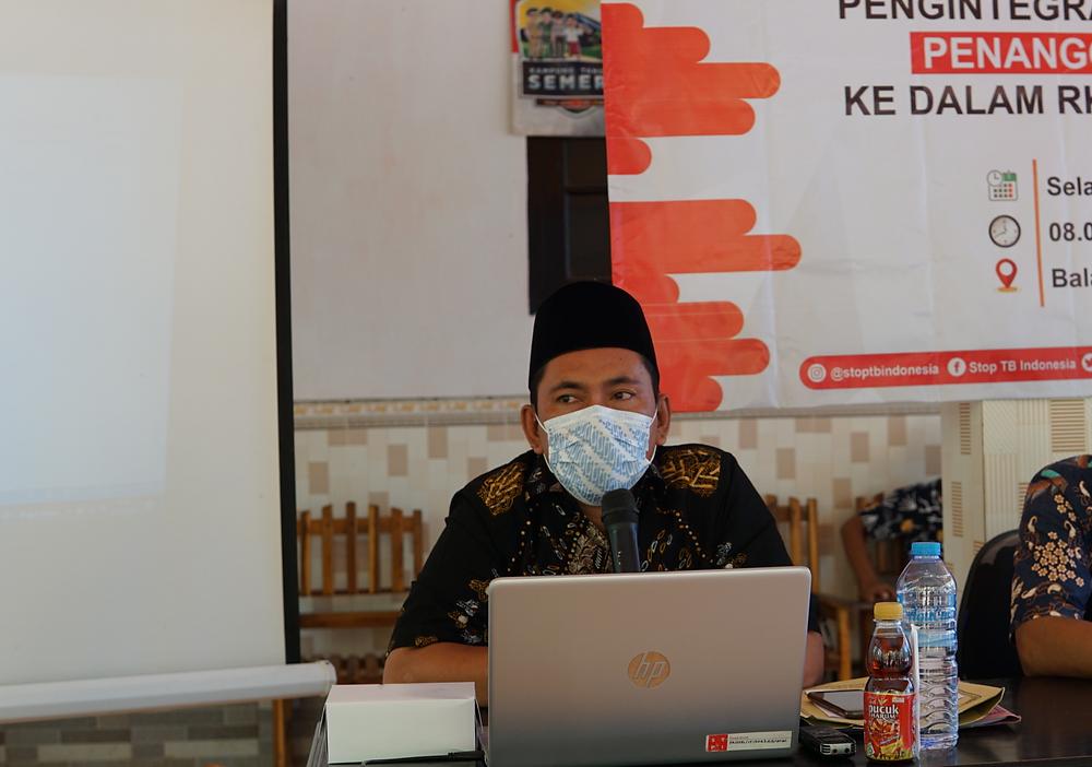 Sukri R. Bintaro selaku staf lapangan  STPI di Kab. Sumenep