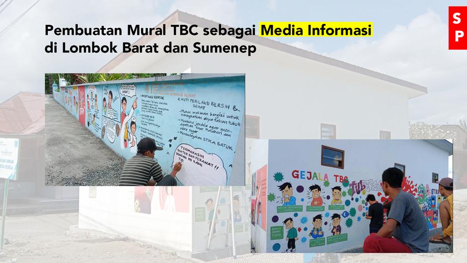 Menarik! Tingkatkan Pengetahuan tentang TBC dengan Mural
