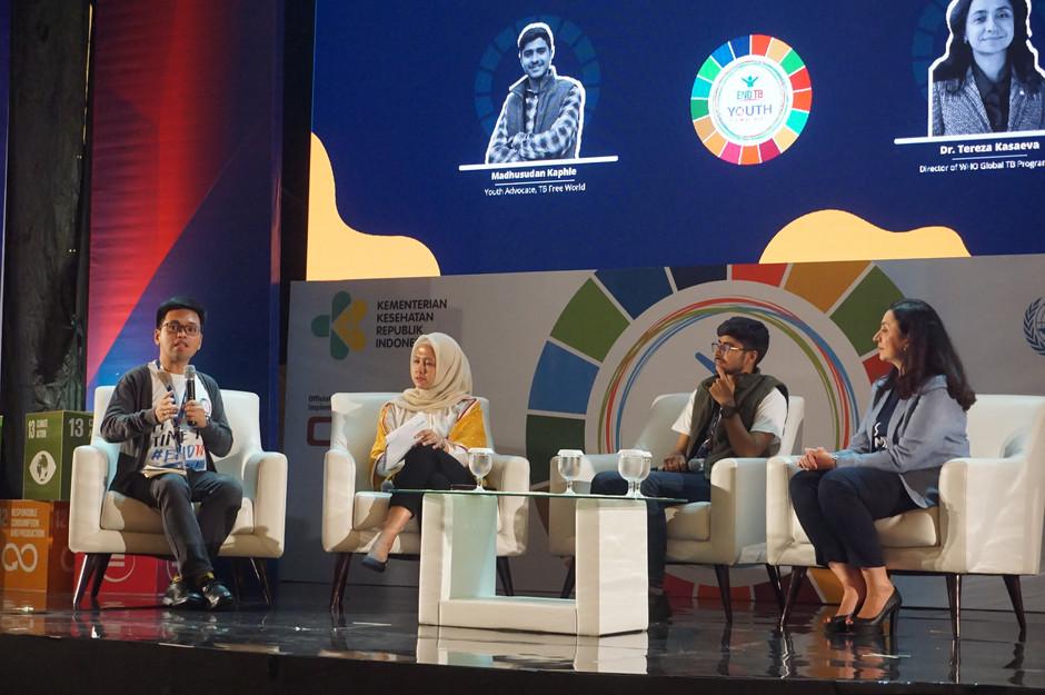 World Health Organization dan Indonesia Melibatkan Kaum Muda dalam Upaya Mengakhiri Tuberkulosis