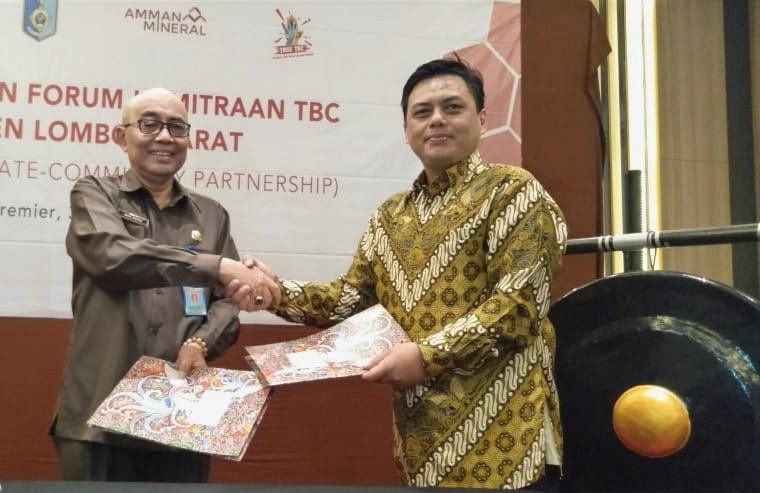 Sekretaris Daerah Meresmikan Forum Kemitraan TBC PPCP (Public-Private-Community Partnership) di Kabu