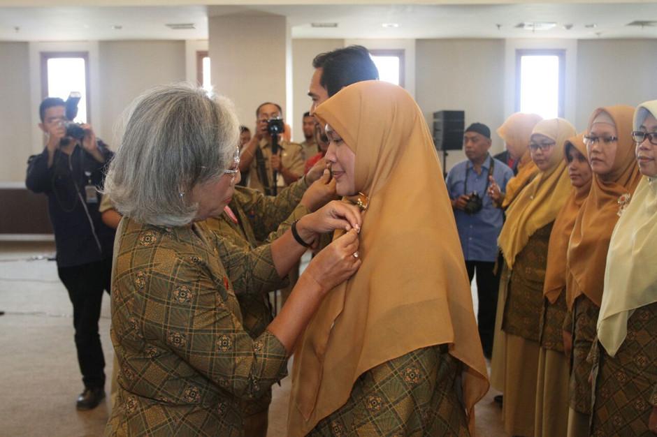 Foto Pelantikan Pengurus PPTI Cabang Kota Depok Masa Bakti 2017-2022