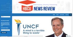 HBCU News Review Website