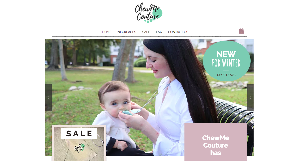 ChewMe Couture Website