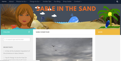Sable in the Sand Travel Blog