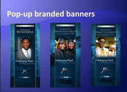 JSU Pop Up Branded Banners