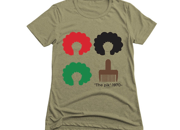 Say it Loud-Sista Fro (Women's Fitted Tee)