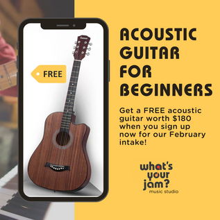 Get a Free Acoustic Guitar