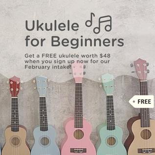 Get a Free Ukulele!