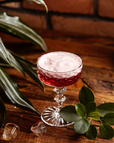 front-view-fruit-cocktail-with-ice-brown