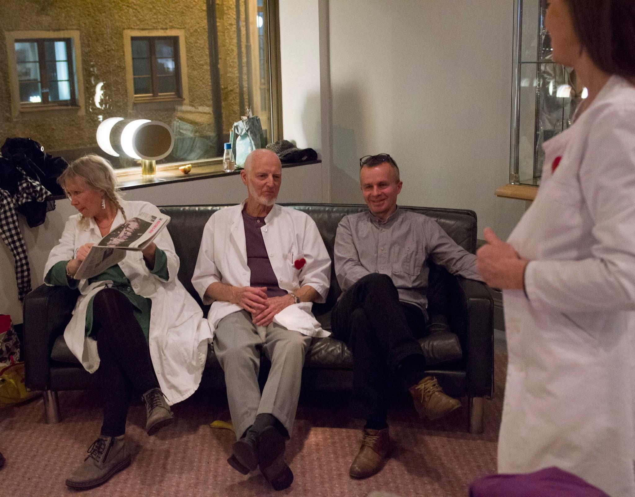 Eva, Kenneth och Åke
