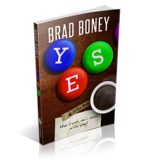 A 3D display image for Yes, by Brad Boney